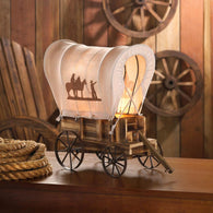 WESTERN WAGON TABLE LAMP - Distinctive Merchandise