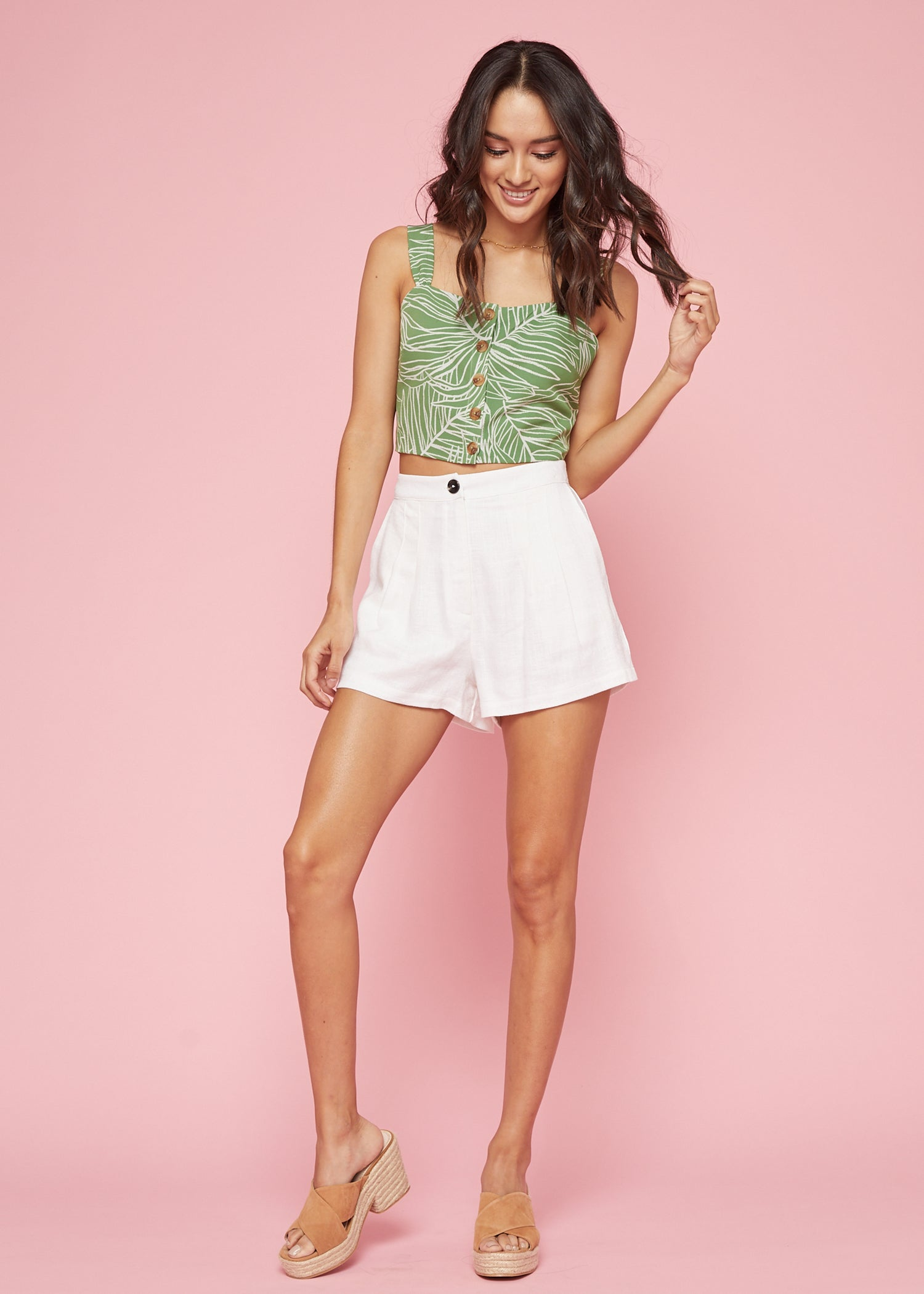 Vines Crop Top