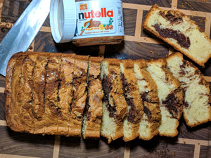 NUTELLA pound cake!