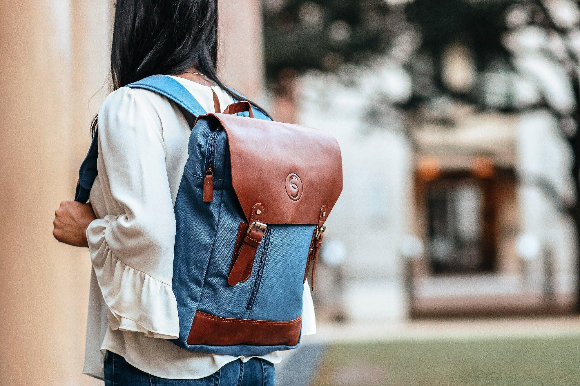 vintage backpacks by chef's satchel