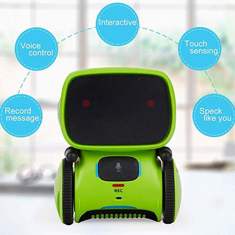 Smart AT Robot - Voice Command, Touch Control, Music and Dancing