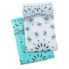 Baby Shower Bundle: Bandana Burp Rag Set + Water Bottle + Carabiner