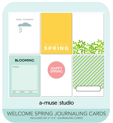 digital kit - welcome spring