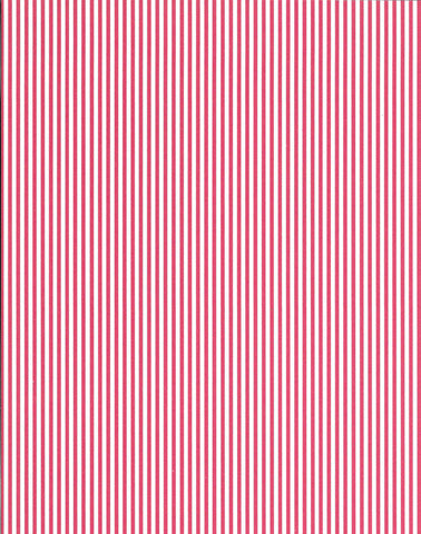 a|s cardstock - stripes cherry