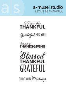 let us be thankful