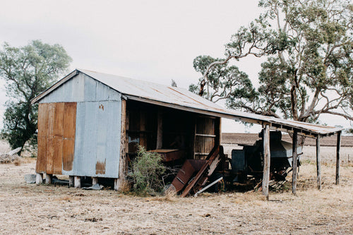 Freestone Shed I Photographic Print