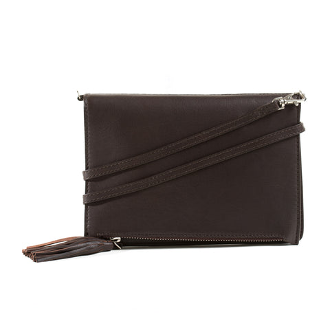Kleo Medium Crossbody (brown)