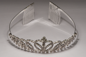 Crystal Tiara With Crown SS1000