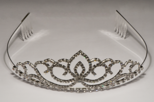 Crystal Tiara With Crown SS0900
