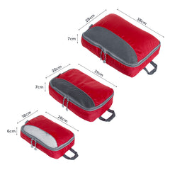 Packing Cube 3 Piece - Red - globitetravel