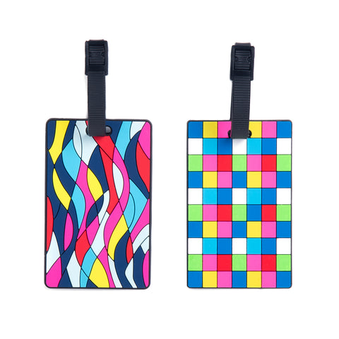 Silicone Luggage Tags 2pk - globitetravel