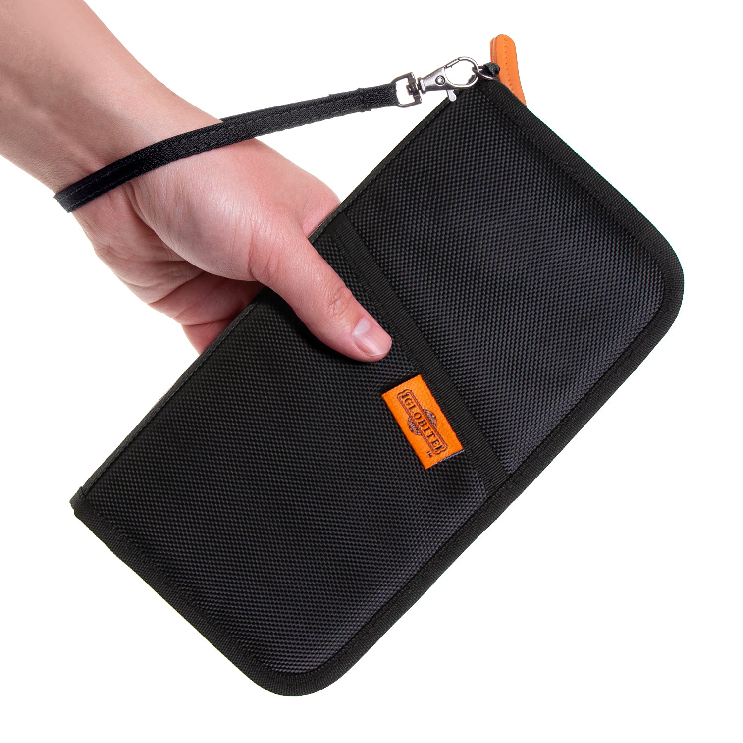 RFID Travel Wallet - Black - globitetravel