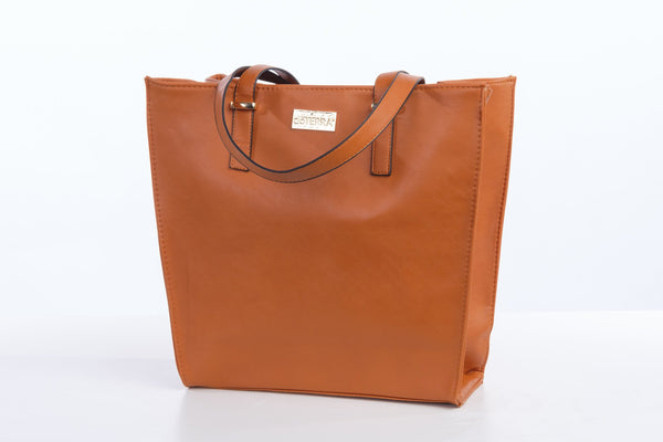 Chic Vegan Leather Tote - 2 Colors Available - Oil Life