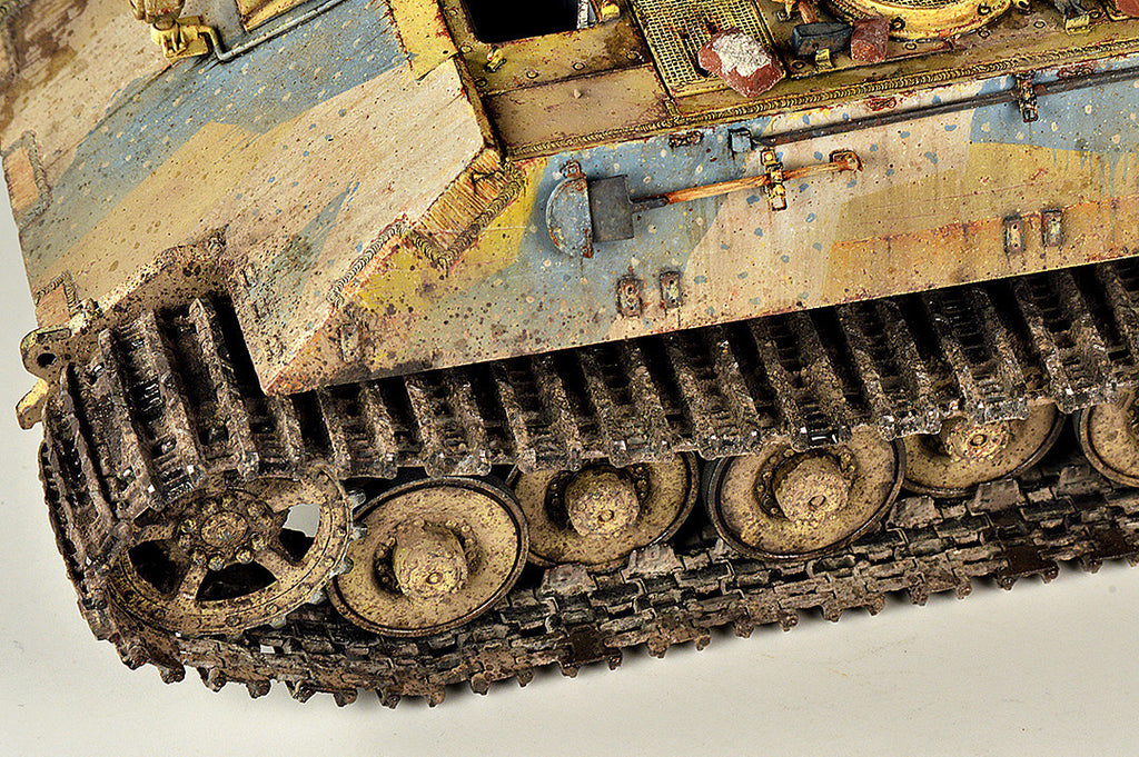 Weathering tracks with Wilder products