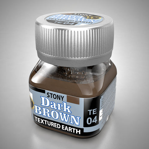 TE04 - Dark Brown - Stony