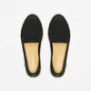 Classic Slip-On Black Femme ANGARDE cotton summer sunrise noire vue dessus