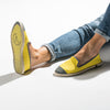 Classic Slip-On Lemon Femme ANGARDE coton summer sunrise jaune citron casual chic