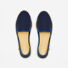 Classic Slip-On Navy Femme ANGARDE cotton summer sunrise bleu marine vue de dessus