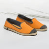 Classic Slip-On Orange Femme ANGARDE cotton summer sunrise orange vue biais