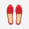 Classic Slip-On red Femme ANGARDE coton summer sunrise rouge vue dessus