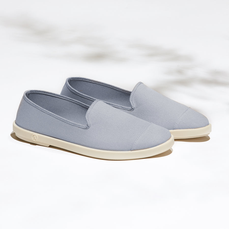 Street Slip-On Quartz Homme ANGARDE coton summer afterwork gris casual chic