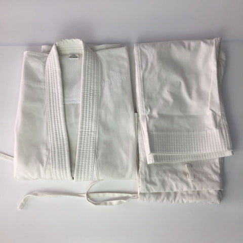 WKF Approved 9-oz 100% Cotton Karate Suit Gi Karate Uniform Children & Adults