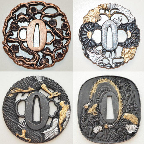 Japanese Sword Guards Collection V2
