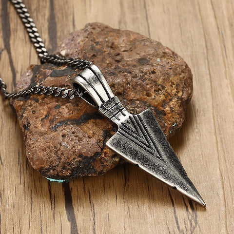 Spearhead Stainless Steel Necklaces