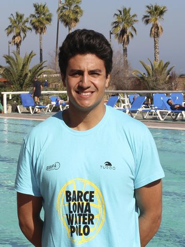 Camiseta Barcelona Waterpolo Azul