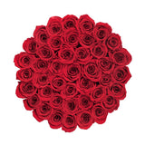 Grande - Red Eternity Roses - White Box - The Million Roses Europe