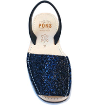 Load image into Gallery viewer, Glitter NAVY - Menorca Sandals - Menorca Sandals