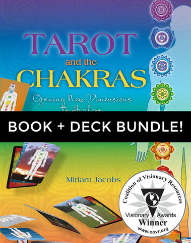 Tarot Bundle! Polarity Wellness Tarot Deck + Tarot & Chakras Book