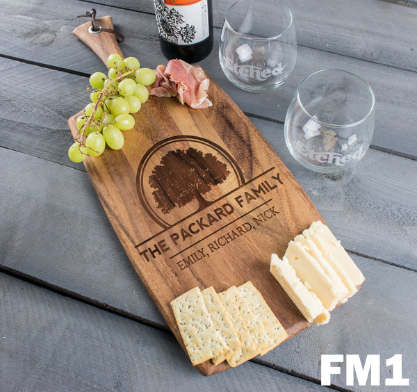 Rectangle Cheese Board - Design: FM1