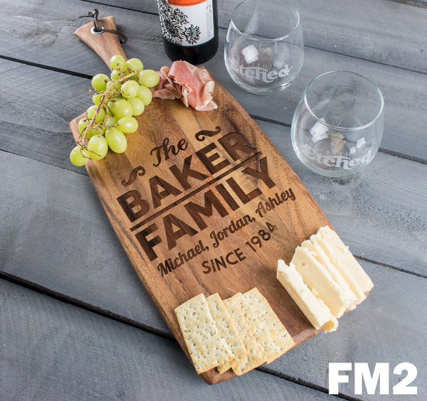Rectangle Cheese Board - Design: FM2