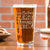 Pint Glass - Design: Custom Design/Logo