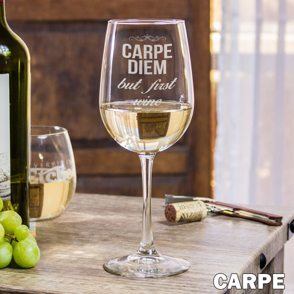 White Wine Glass - Design: Carpe