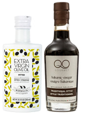 Frantoio Muraglia PITTED First Cold Pressed EVOO + QO Balsamic Vinegar Traditional Style
