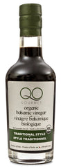 QO USDA Certified Organic Aged Thick Balsamic Vinegar of Modena Traditional Style