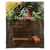 Plantfusion Phood Packets - Chocolate Caramel - 1.59 Oz - Case Of 12