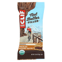 Clif Bar Organic Nut Butter Filled Energy Bar - Chocolate Hazelnut Butter - Case Of 12 - 1.76 Oz. - Organicotc.com