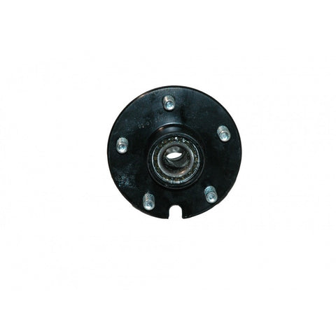Black Powder Coated 5-Bolt Hub Assembly
