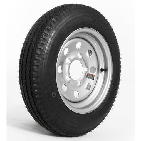 4.80 x 12″ C Load Range Silver Tire & Wheel