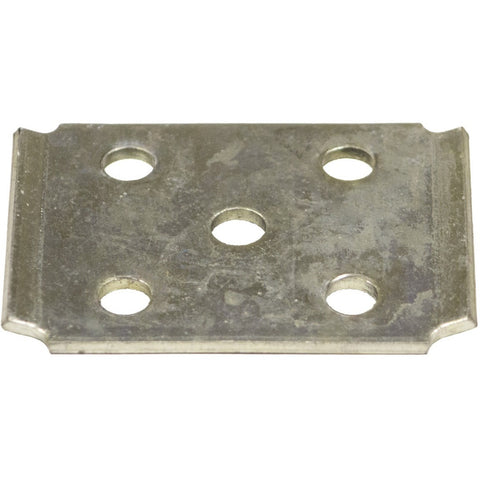 "7000# Zinc Tie Plate for 2"" Square Axle Tubing"