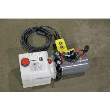 KTI Hydraulics 12V Double Action Pump Hydraulics Nationwide Trailers Parts Store