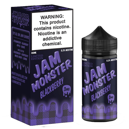 Jam Monster Blackberry Jam-UVD