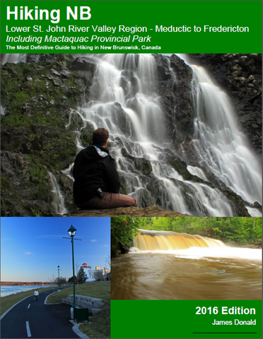 Hiking NB Guidebook (digital download) - Lower St. John River Valley - Meductic to Fredericton