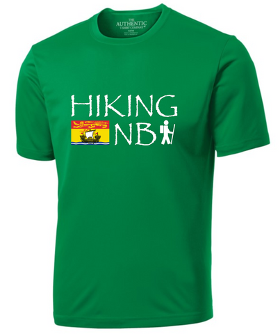 Hiking NB Men's Performance T-Shirt - Wide Logo