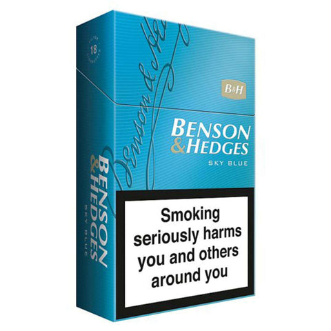 Benson & Hedges Blue Cigarettes | Cigarettes Delivery | Booze Up