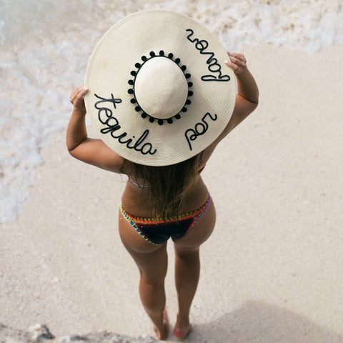 Tequila Por Favor Women's Floppy Sun Hat