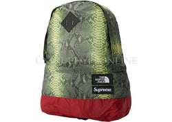Supreme The North Face Snakeskin Lightweight Day Pack SS18 Green